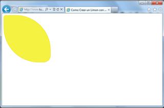 Limón con CSS - Internet Explorer