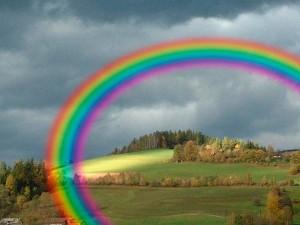 arco iris gausiano