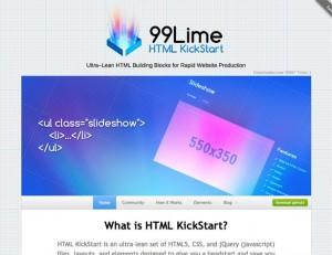 5 HTML kickstart