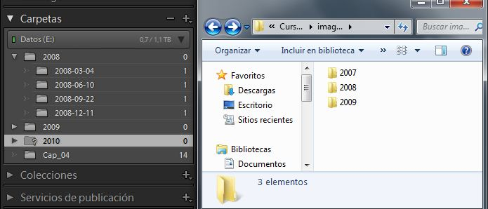 Borramos desde el explorador de Windows
