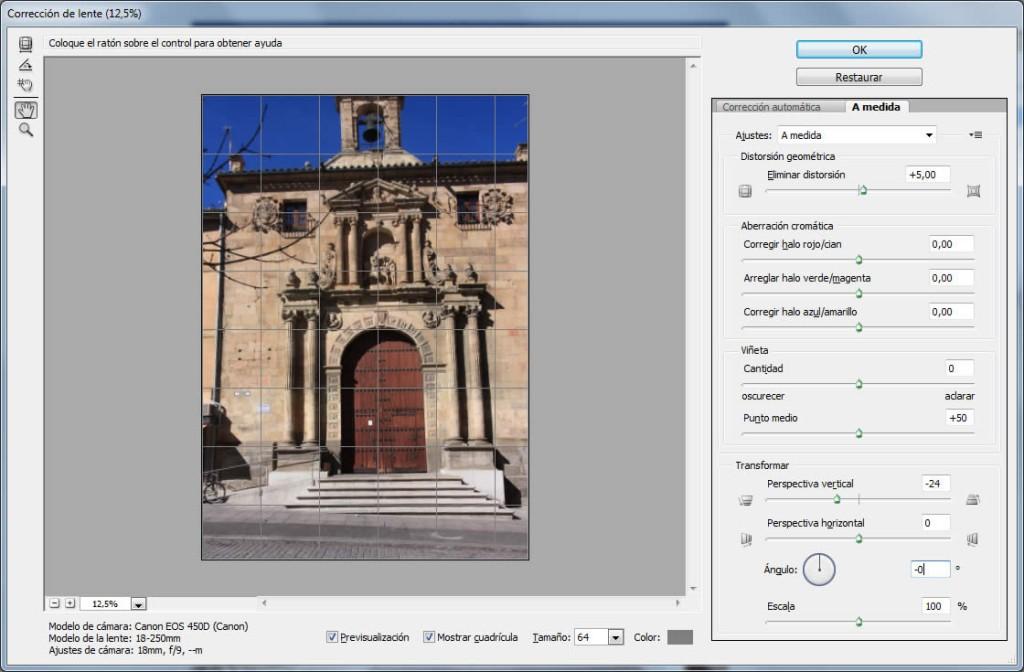 filtro correcion lente a medida