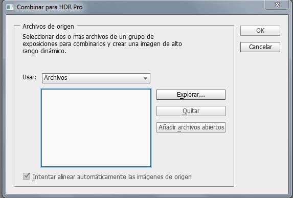 Archivos HDR