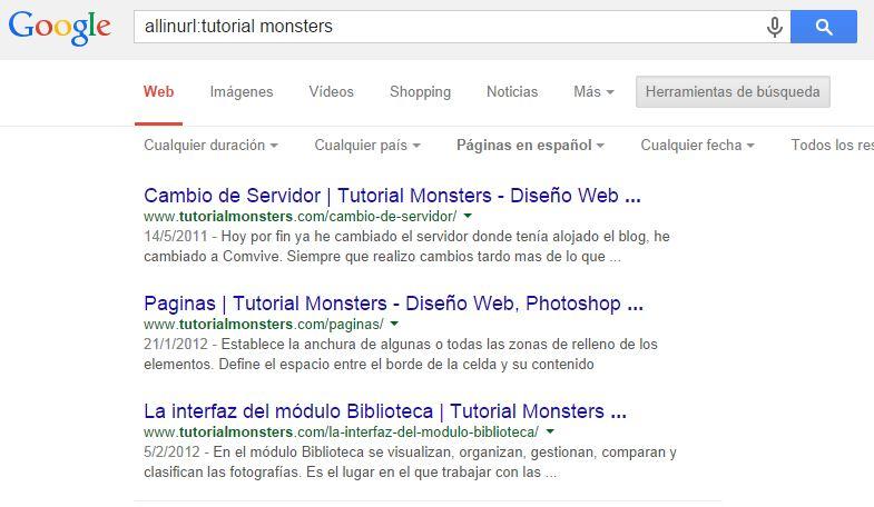 allinurl:tutorial monsters