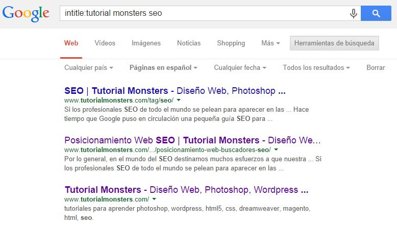 intitle:tutorial monsters seo