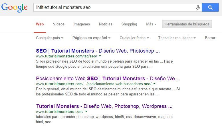 intitle:tutorial monsters seo
