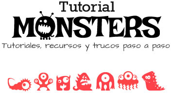 Tutorial Monsters - Diseño Web, Photoshop, Wordpress, CSS, Lightroom