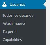 roles usuarios