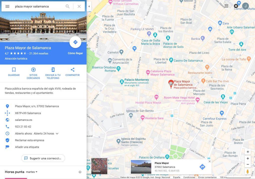 Cómo obtener las coordenadas de latitud y longitud en Google Maps