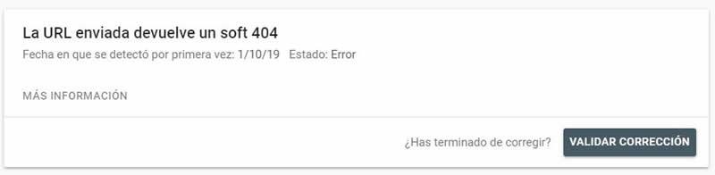 error 404 GSC