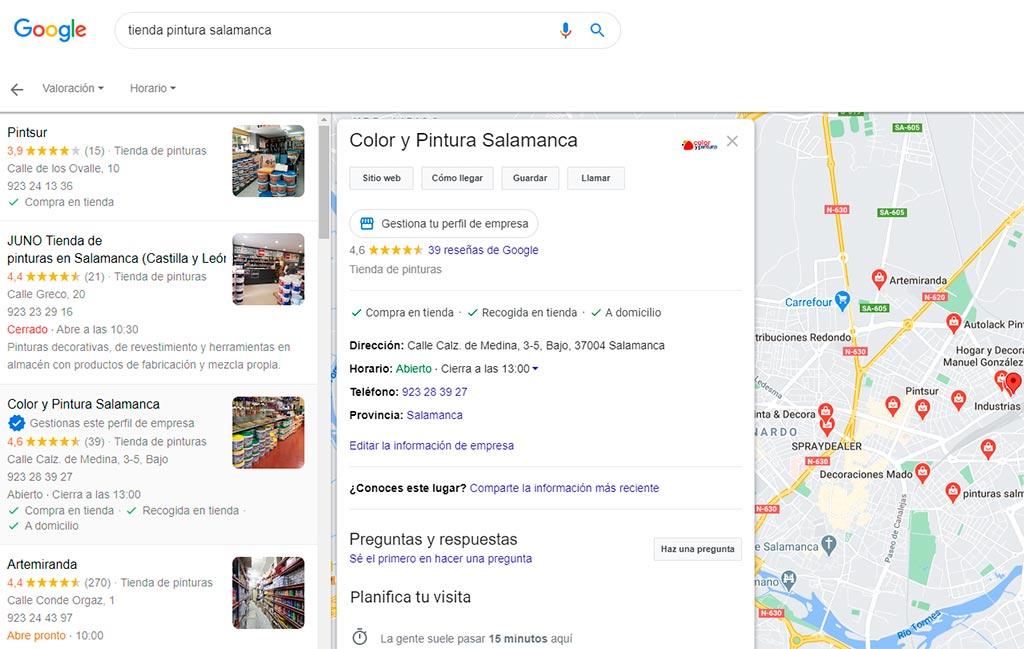 Color y Pintura Salamanca